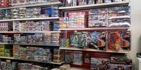 GUNDAM RESTOCKED IN THE TAMPA HOBBYTOWN, Tampa, Florida