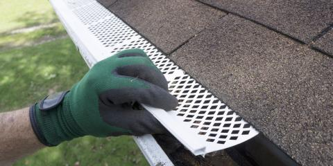 4 Benefits of Gutter Guards, Crystal, Minnesota