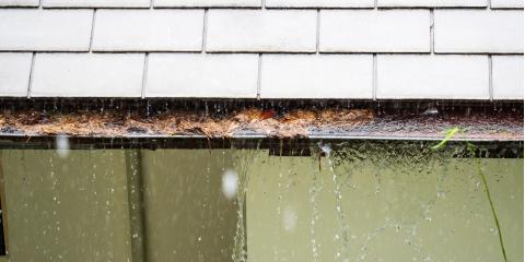 3 Common Reasons That Gutters Overflow, ,