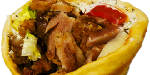 NYC's Favorite Greek Restaurant Recounts the History of the Gyro, Queens, New York