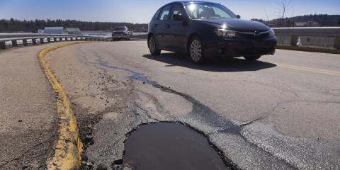 3 Ways Potholes Can Damage Your Car, Wentzville, Missouri