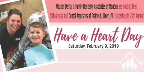 Schedule your child's appointment for Have a Heart Day!, Prairie du Chien, Wisconsin