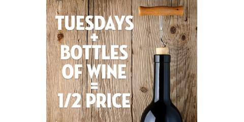 1/2 Price Bottles of Wine, La Crosse, Wisconsin