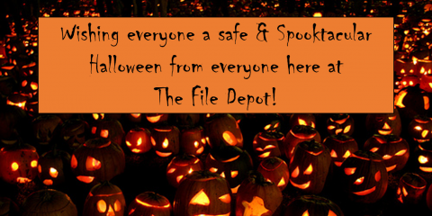 Halloween Greetings from The File Depot!, Abita Springs, Louisiana