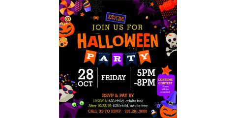 Halloween Party at Jumpin'Jax, Paramus, New Jersey