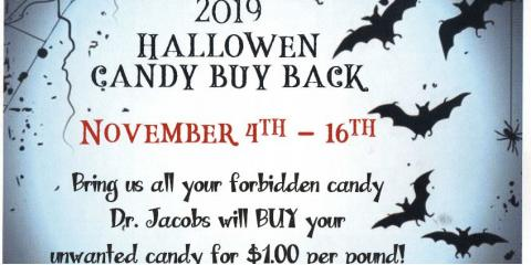2019 Halloween Candy Buy Back!, Oxford, Ohio