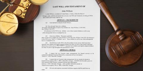4 Key Differences Between Wills & Living Trusts When Estate Planning, Hamilton, Ohio