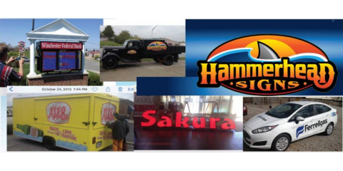 Hammerhead Signs, Custom Signs, Services, Winchester, Kentucky