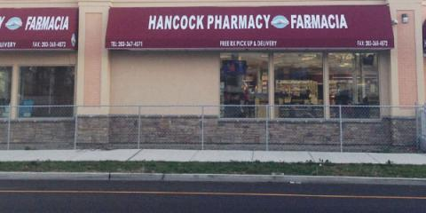 Hancock Pharmacists Encourage Customers to Shop at Locally Owned Drugstores, East Hartford, Connecticut
