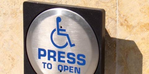 What Are Handicap Doors u0026&; How Do They Work? Grandview ... & What Are Handicap Doors u0026 How Do They Work? - Southern Ohio Door ...