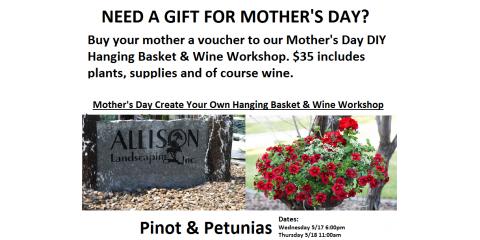 Pinot & Petunias, Delhi, Ohio