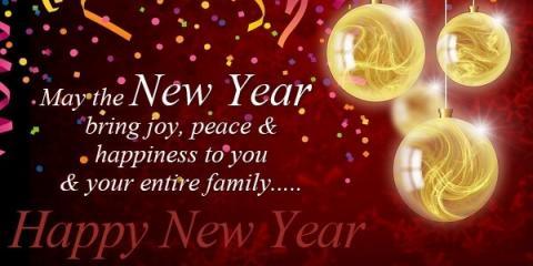 Happy New Year, Elyria, Ohio