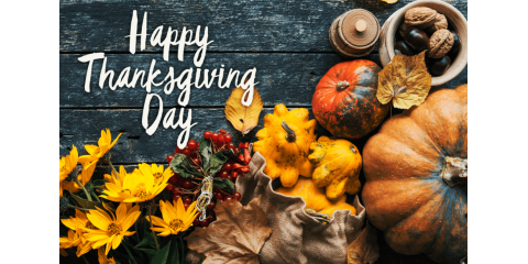 Wishing you all a Healthy and Happy Thanksgiving!!, Forked River, New Jersey