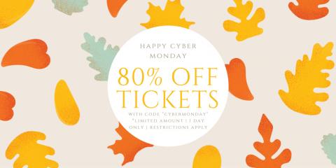 Cyber Monday Deal! 80% OFF Tickets!, Manhattan, New York