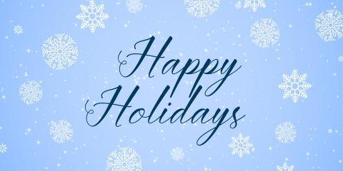 Happy Holidays from Get Organized, Rochester, New York