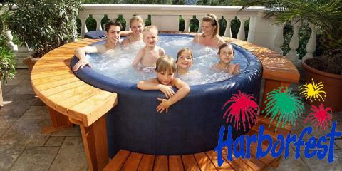 Win a Softub at the Oswego Harborfest, East Rochester, New York