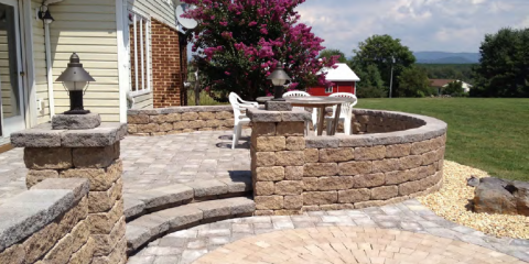 Hardscape Installation: Why You Should Choose a Patio Over a Deck, Lyndhurst, Virginia