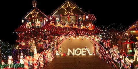 3 Tips for Hanging Christmas Lights, Arden Hills, Minnesota