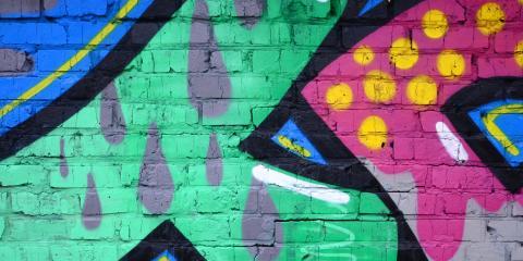 How to Remove Graffiti From Walls, Harrison, Ohio
