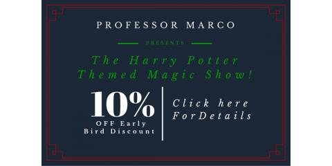 10% OFF Harry Potter Magic Show, Philipstown, New York