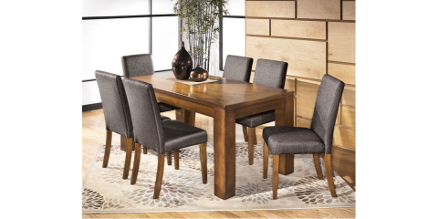 dining table 4 upholstered chairs haulani 490 st louis mo