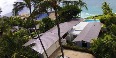 How Metal Roofing Lowers Home Insurance Premiums, Ewa, Hawaii