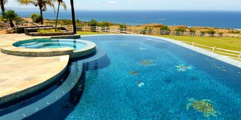 Enjoy a custom swimming pool from kahului 39 s best building for Local swimming pool companies