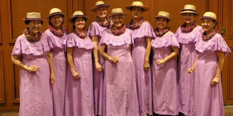 Traditional Hawaiian Clothing in Contemporary Fashion, Honolulu, Hawaii