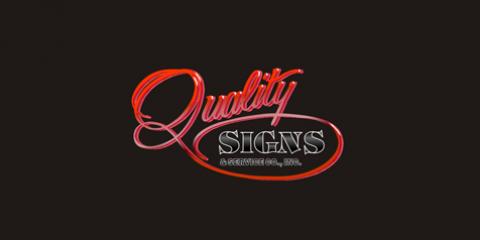 Quality Signs & Service Co., Inc., Custom Signs, Services, Burlington, Kentucky