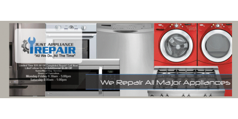 Just Appliance Repair, Appliance Repair, Services, Poughkeepsie, New York