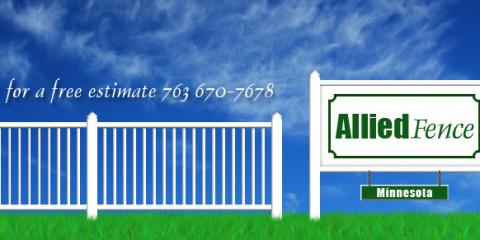 ​Allied Fence Offers Custom Cedar Fence Design & Installation, St. Francis, Minnesota