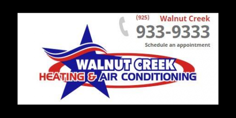 Keep Warm This Winter With Heating Repair Services From Walnut Creek Heating & Air Conditioning, Concord, California