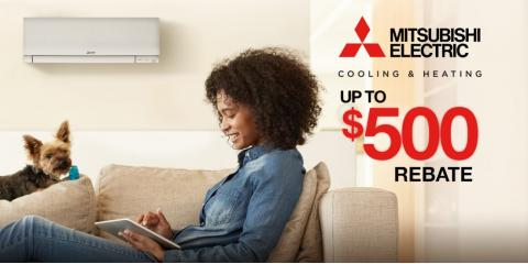 $500 Fall Rebate on Available on Cooling & Heating Systems, Ramtown, New Jersey