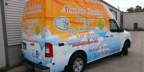Absolute Comfort Heating and Air Conditioning, Heating & Air, Services, Lincoln, Nebraska