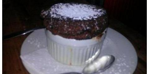 Best Chocolate Souffle in NYC at Heidi's House, Manhattan, New York