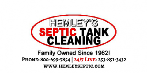 Hemley's Septic Tank Cleaning Drops Prices For The Holiday Season, Gig Harbor Peninsula, Washington