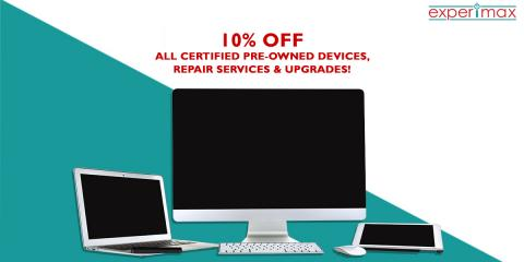 10% OFF all devices, repairs and upgrades!, Henderson, Nevada