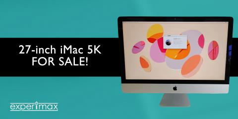 Great Deal! 27-inch iMac® 5K for Sale at Experimax Henderson, Henderson, Nevada
