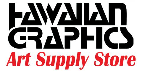 Hawaiian Graphics, Art & Drafting Supplies, Shopping, Honolulu, Hawaii