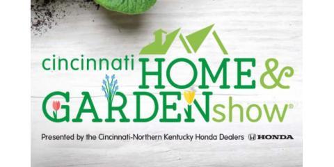 Official Sponsor Of The 2017 Cincinnati Home Garden Show