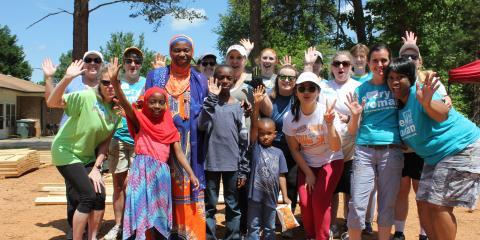 Greensboro's Habitat for Humanity Dedicates First All-Woman Built House, High Point, North Carolina
