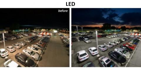 Parking Lot Lighting , Silverton, Ohio