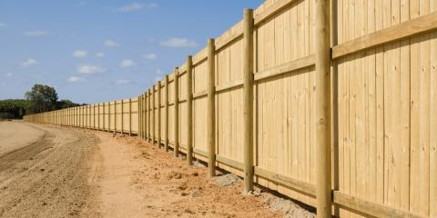 How to Set Fence Posts in Concrete, High Point, North Carolina