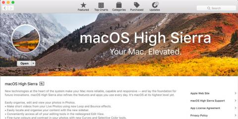 Why the New macOS® High Sierra Is a Significant Apple Upgrade , Canton, Ohio