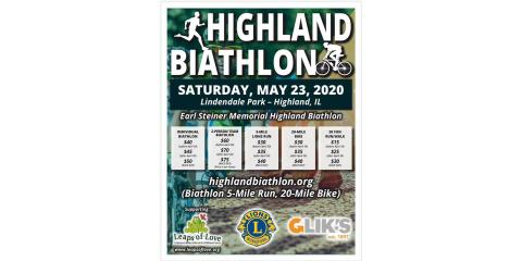 Highland Biathlon benefiting LOL!, Highland, Illinois
