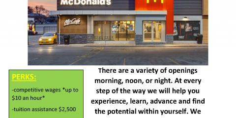 McDonald's is Hiring, O'Fallon, Missouri