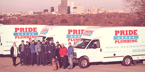 The History of Pride Plumbing, Rochester, New York