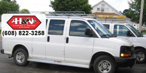 H & N Plumbing, Heating & Electrical, Plumbers, Services, Fennimore, Wisconsin