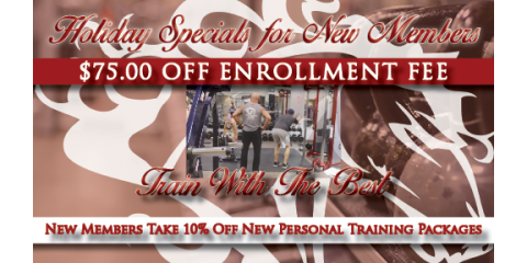 New Members: $75 OFF Enrollment +10% off Personal Training, Ballwin, Missouri