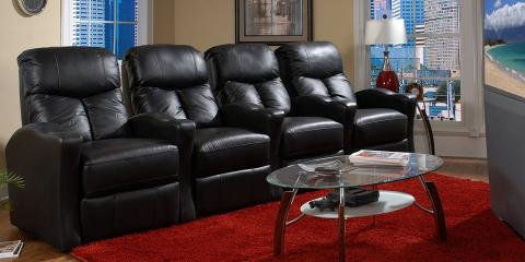 How to choose home entertainment theater seating watson for Home theater furniture louisville ky